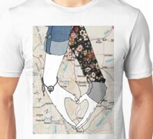 My Heart Is Bigger Than The Distance In Between Us Unisex T-Shirt