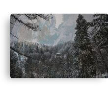 """ Winters Keep "" Canvas Print"