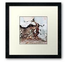 { Corners: where the walls meet #11 } Framed Print