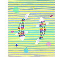 Rainbow koi Photographic Print