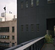 'Town' NYC by Louise Bichan