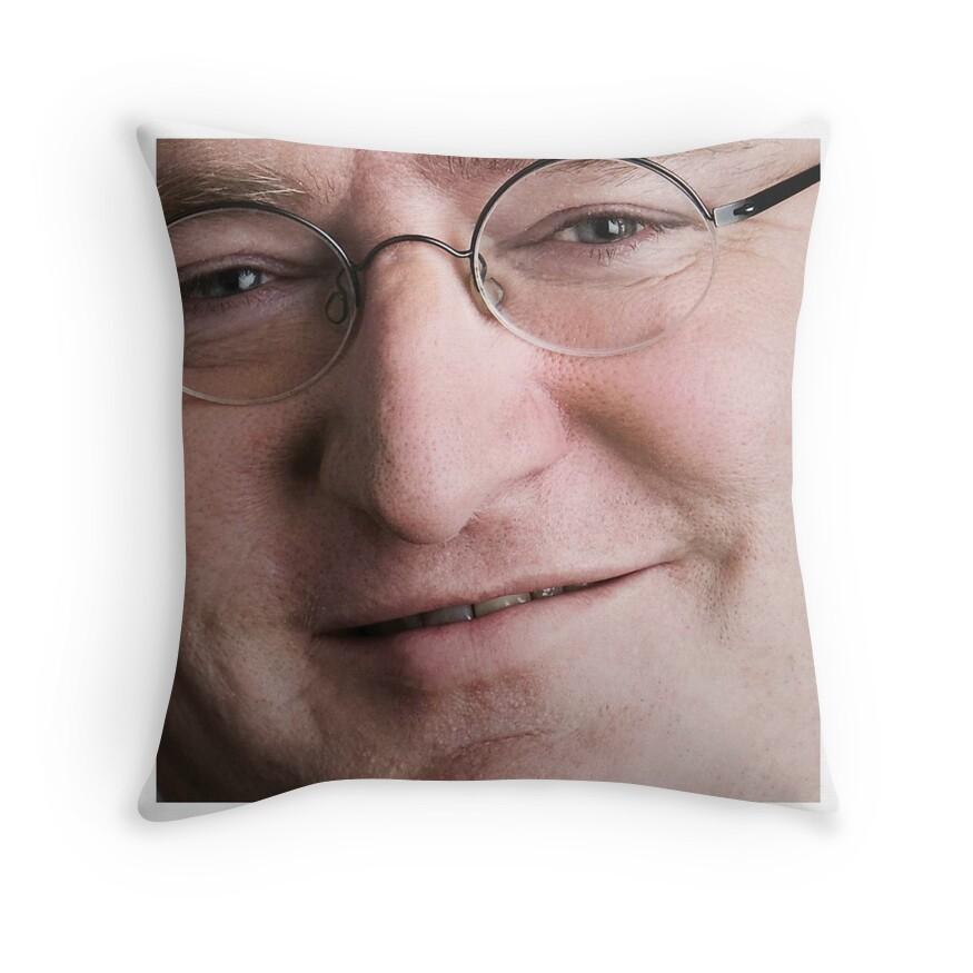 gaben throw pillows redbubble
