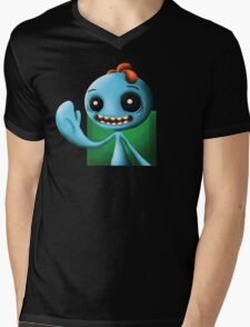 Meeseeks Portrait Mens V-Neck T-Shirt