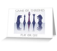 Game of thrones Greeting Card