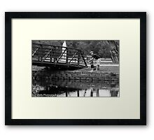 Passing on Tradition  Framed Print