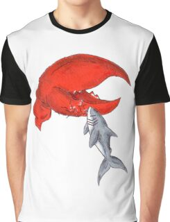 Great White Lobstah Lovah Graphic T-Shirt