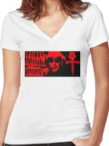 Gonzo Women's Fitted V-Neck T-Shirt