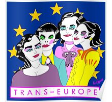 TRANS EUROPE Poster