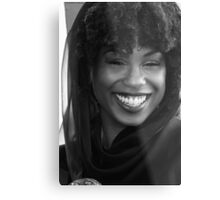 Black Goddess Metal Print