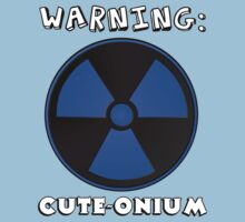 Radioactive Boy - Warning Super Cute Baby One Piece - Short Sleeve