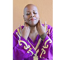 bald is divinely beautiful Photographic Print