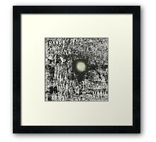 Bark at the Moon Framed Print