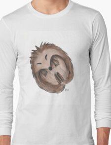 Sleeping hedgehog Long Sleeve T-Shirt