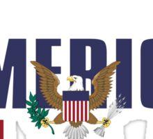 United States of America Republic (version 1) Sticker