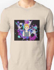 5SOS 5 Seconds Of Summer Luke Hemmings Cartoon Splatter Design Unisex T-Shirt