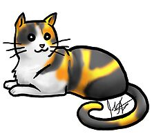 Calico Cat by jameson9101322