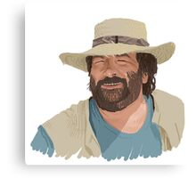 bud spencer Canvas Print