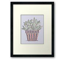 Potted Plant Framed Print