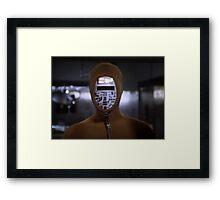 Robot Ninja Framed Print