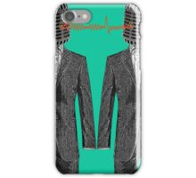 Twin Grey Scale Talking Mikes iPhone Case/Skin