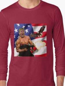 TRUMP'S 'MERICA.  Long Sleeve T-Shirt