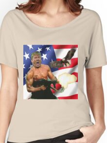 TRUMP'S 'MERICA.  Women's Relaxed Fit T-Shirt