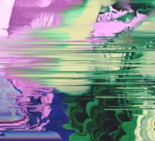Vaporwave Glitch Sticker