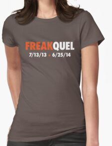 Freakquel Womens Fitted T-Shirt