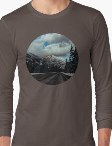 Driving in the North Cascades Long Sleeve T-Shirt