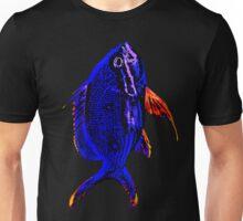 Blue Tropical Fish Unisex T-Shirt