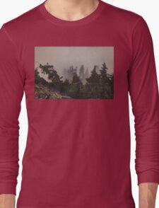 Mountaintop Forest Long Sleeve T-Shirt