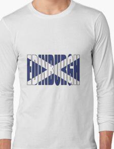 Edinburgh. Long Sleeve T-Shirt