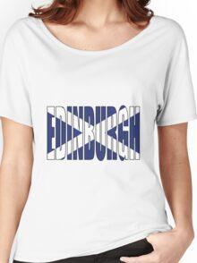Edinburgh. Women's Relaxed Fit T-Shirt