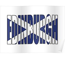 Edinburgh. Poster