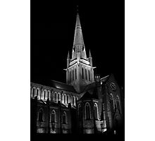 Old Church Black & White  Photographic Print