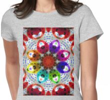 dance of the multi colored ladybugs Womens Fitted T-Shirt