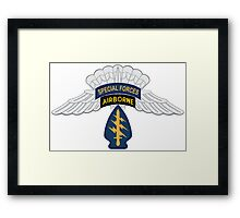 Special Forces HALO Framed Print