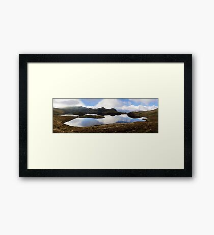 Angle Tarn, Lake District National Park, UK Framed Print