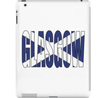 Glasgow. iPad Case/Skin