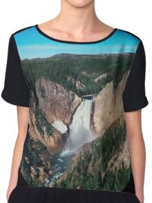 Yellowstone x Lower Falls Chiffon Top
