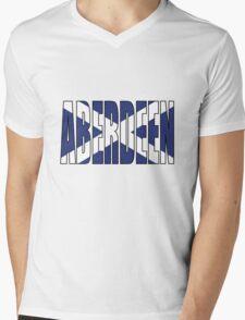 Aberdeen. Mens V-Neck T-Shirt