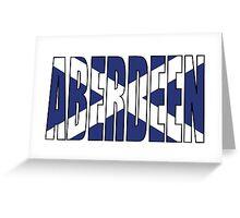 Aberdeen. Greeting Card