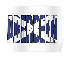 Aberdeen. Poster