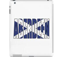 Aberdeen. iPad Case/Skin