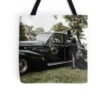 Classic Caddy And Cool Lace Boots Tote Bag