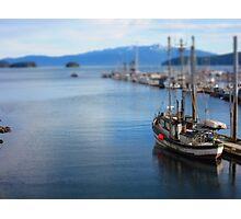 Boat Dock Dreams Photographic Print