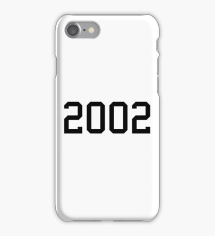 2002 iPhone Case/Skin