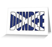 Dundee. Greeting Card