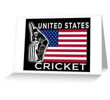 United States Cricket Greeting Card