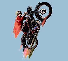 Vintage Cafe Motorcycle Racer 1 Unisex T-Shirt